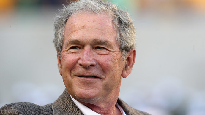 Former U.S. President George W. Bush.(AFP Photo / Ronald Martinez)