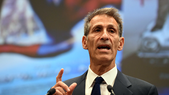 Sony Entertainment CEO and Sony Pictures Entertainment chairman and CEO Michael Lynton.(AFP Photo / Toshifumi Kitamura)