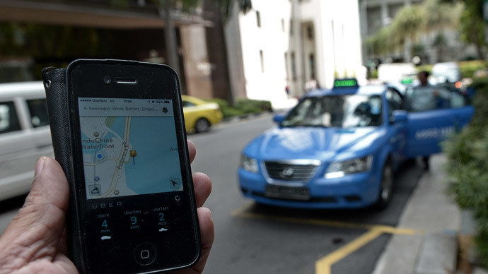 Uber taxi app gets nationwide Spanish ban