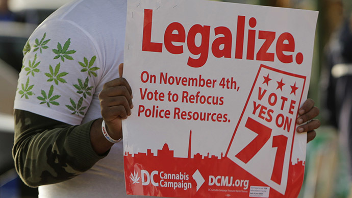 Americans want federal govt out of marijuana policy
