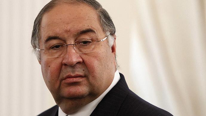 Alisher Usmanov. (Reuters/Maxim Shemetov)