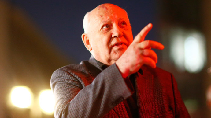 Gorbachev: Russia, US, EU should hold summits to 'defrost' relations