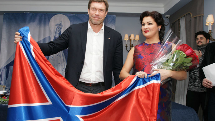 Twitter-storm over opera diva Netrebko's Donetsk donation