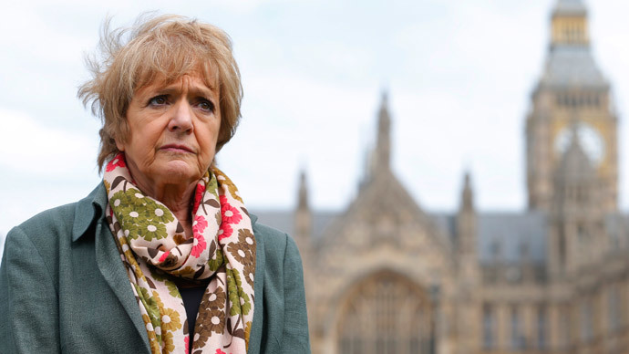 Margaret Hodge, Chair of the Public Accounts Committee. (Reuters / Andrew Winning)
