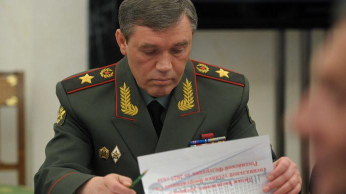 Army General Valery Gerasimov.(RIA Novosti / Alexei Druzhinin)