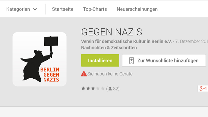 'Anti-Nazi' tracker app launched to fight far-right rallies in Berlin