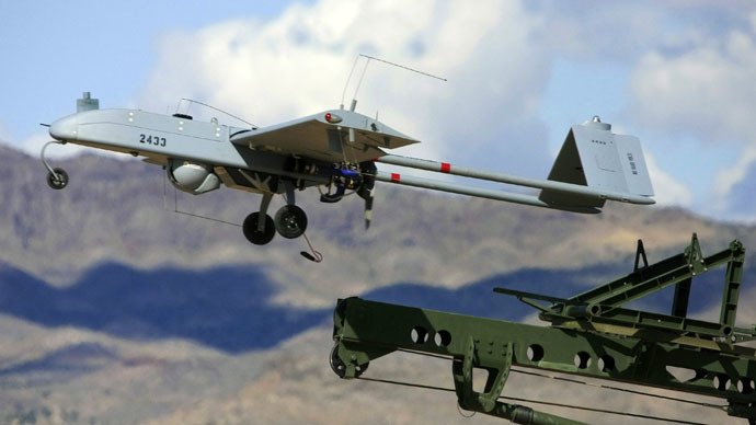 "An unarmed U.S. ""Shadow"" drone (Reuters/AAI Corporation)"