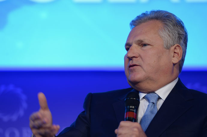 Former President to the Republic of Poland, Aleksander Kwasniewski (AFP Photo)
