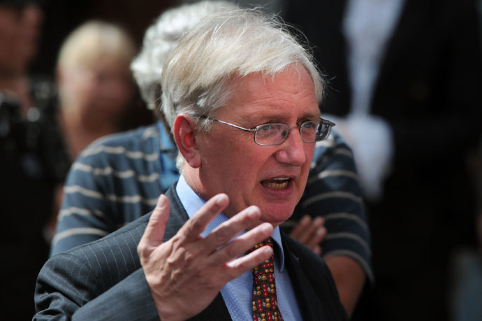 Craig Murray, the former British ambassador to Uzbekistan (AFP Photo)