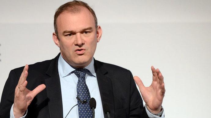 British Energy and Climate Change Secretary Ed Davey (AFP Photo)