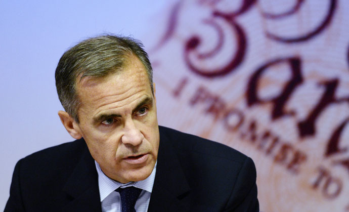 Bank of England Governor Mark Carney (Reuters)