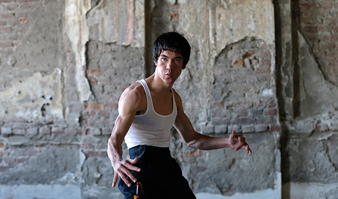 Abbas Alizada, who calls himself the Afghan Bruce Lee (Reuters / Mohammad Ismail)