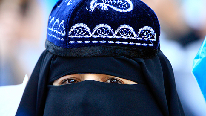 Full-face Islamic veil banned in China's Uighur region