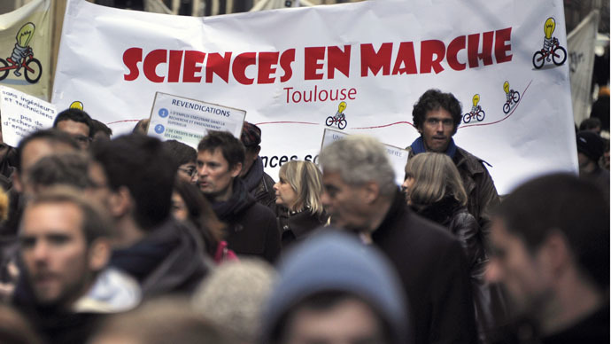 Low education budgets, universities 'in ruins' see thousands protest in France