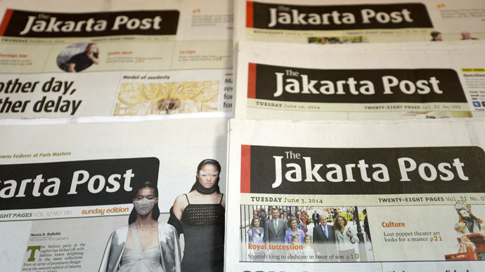 ​Indonesian editor 'amazed' by blasphemy accusations over ISIS cartoon