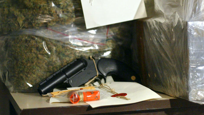 ​'Early Christmas present': Drugs and guns seized by Border Force vulnerable to criminal gangs