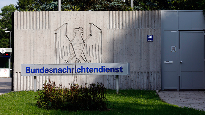 The main entrance of Germany's intelligence agency Bundesnachrichtendienst (BND) (Reuters / Michael Dalder)
