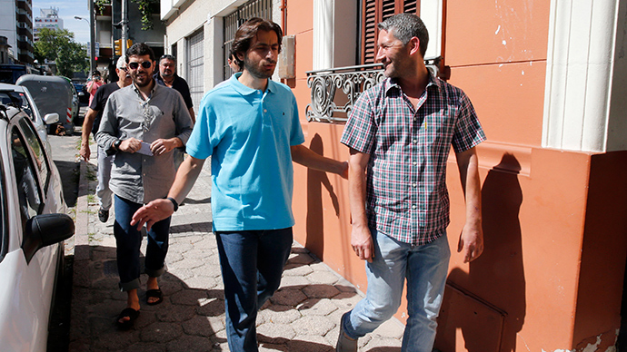 Six released Guantanamo detainees 'happy to be' in Uruguay