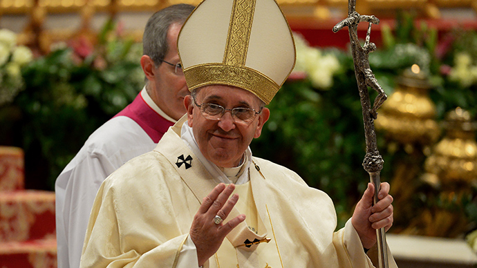 All dogs go to heaven: Pope Francis says animals will enter pearly gates