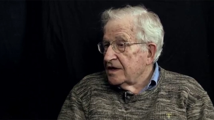 Noam Chomsky on America: 'This is a very racist society'