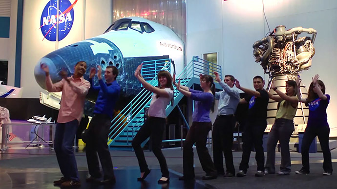 Watch this space: NASA space students' song goes viral at warp speed