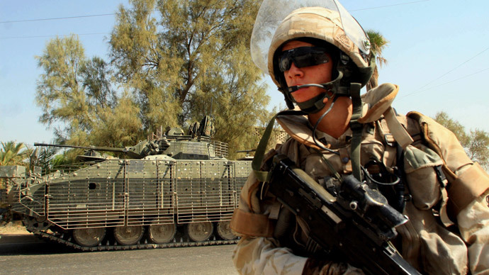 British troops to return to Iraq next month to fight ISIS