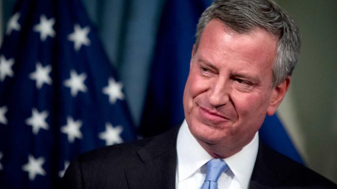 New York City Mayor Bill de Blasio.(Reuters / Carlo Allegri)