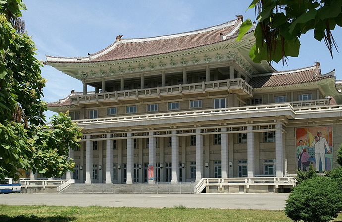 People's Palace of Culture, Pyongyang. (Flickr.com/Moravius)
