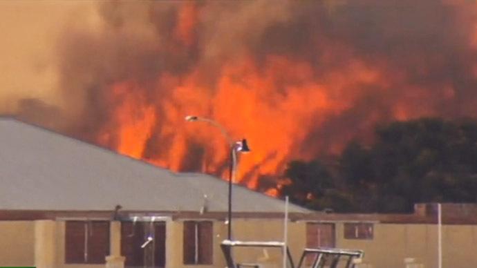 Massive blaze devastates Russian library housing unique documents, ancient texts (PHOTOS, VIDEO)