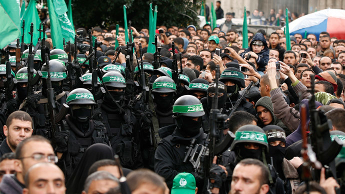 At its 27th birthday parade, Hamas vows to destroy Israel