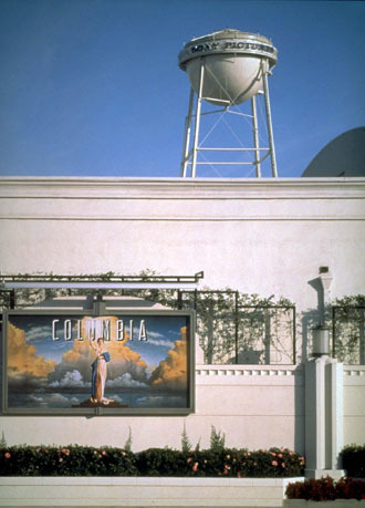 Sony Pictures Studios in Culver City, Los Angeles (AFP Photo)