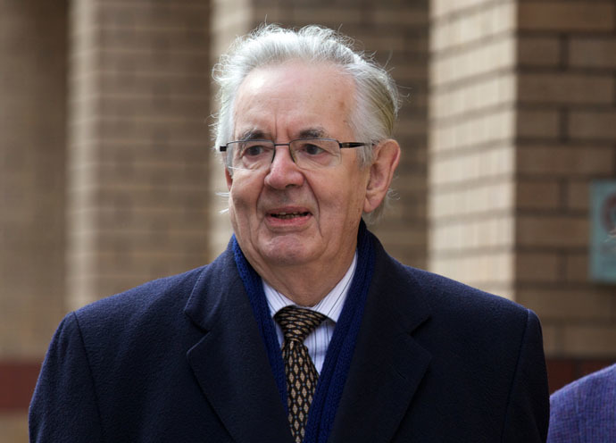 Ex-UK high court judge Sir Thayne Forbes (AFP Photo)