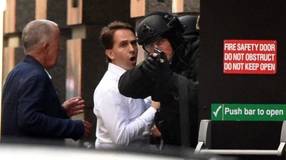 Heroic victims of Sydney café terrorist siege shielded pregnant friend, challenged terrorist