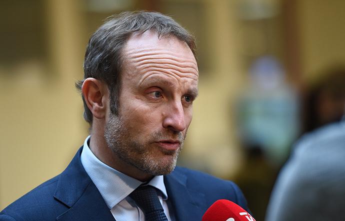 Danish Foreign Minister Martin Lidegaard (AFP Photo / Emmanuel Dunand)