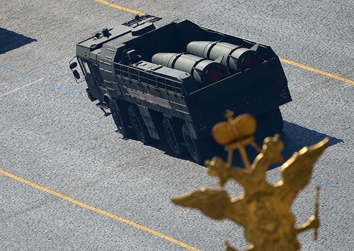 FILE PHOTO: Iskander-M missile system (RIA Novosti / Alexander Vilf)