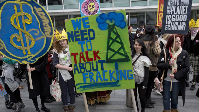Frack-down: Cops sought names of attendees at university debate on fracking