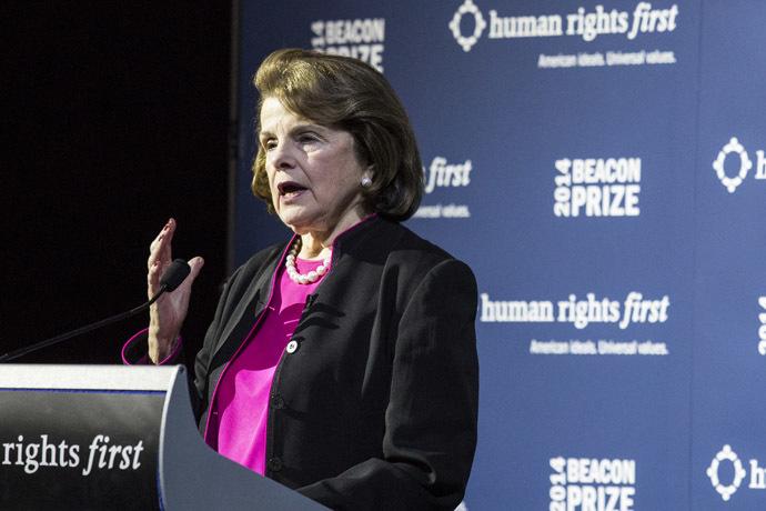 Sen. Dianne Feinstein (D-CA) (AFP Photo)