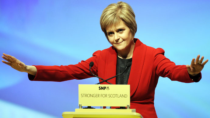 Nuclear ultimatum: Scottish National Party challenges Labour on Trident