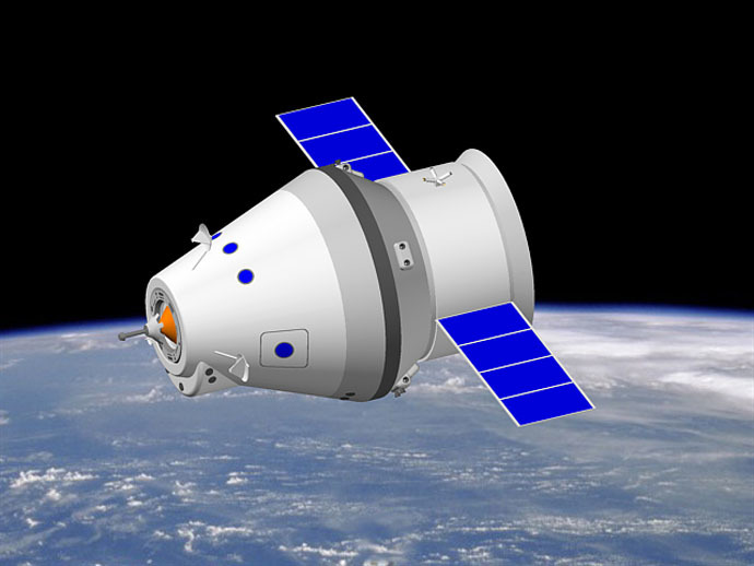 The Piloted Transport Spacecraft (PPTS) (Image from wikipedia.org)
