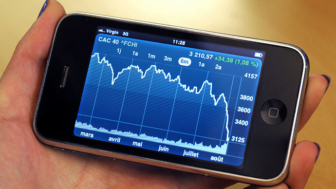US, European markets tumble following ruble, oil