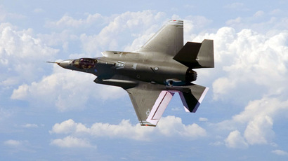 F-35 fighter jet (AFP Photo)