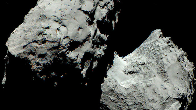 Rosetta's comet 67P now in color… kind of (PHOTO)