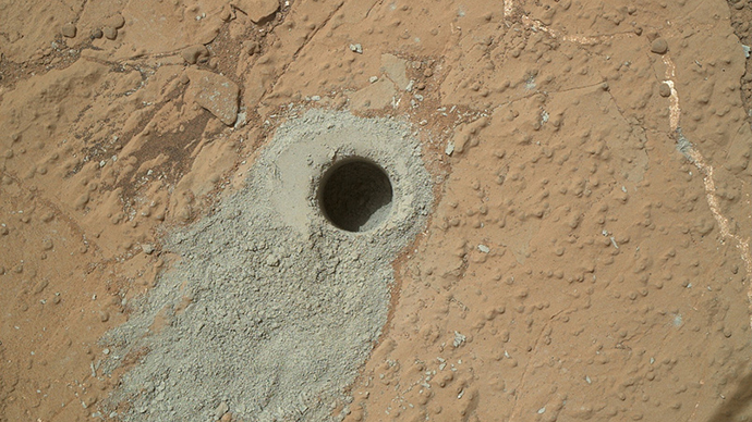 Curiosity team denies claims of 'microbe traces' on Mars