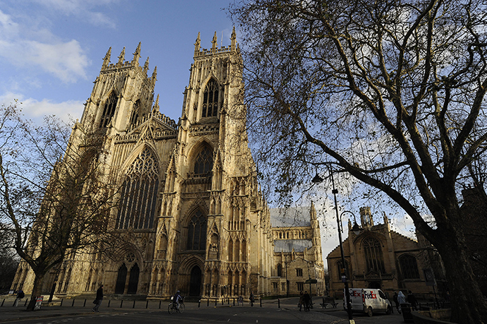 A general view shows York Minster in York, northern England (Reuters / Nigel Roddis)