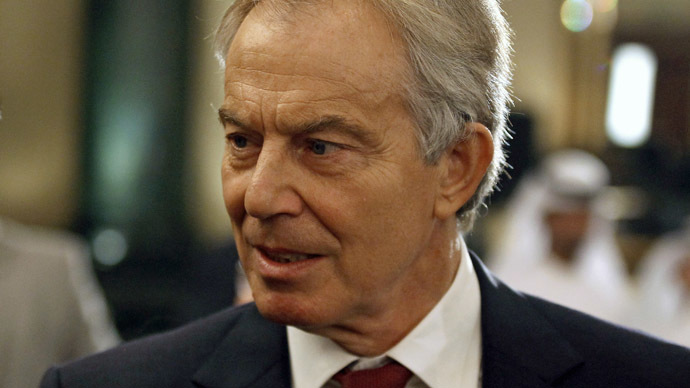Quartet Representative to the Middle East and former British Prime Minister Tony Blair. (Reuters/Mohamed Abd El Ghany)