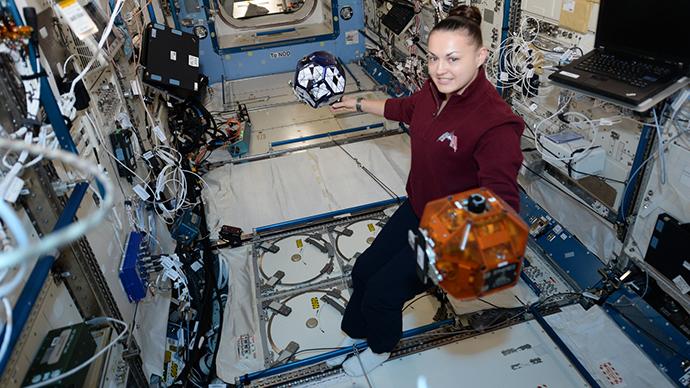 Battleground ISS - kids compete to operate satellites in orbit