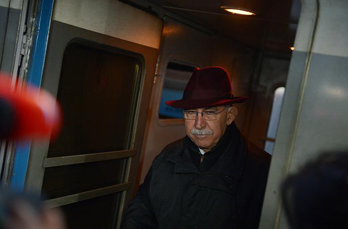 Giulietto Chiesa, Italian journalist and public figure, former member of the European Parliament, visits Moscow (RIA Novosti / Evgeny Biyatov)