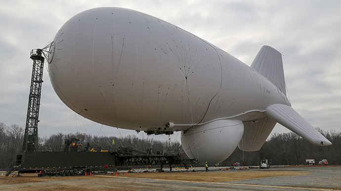 Pentagon launching missile defense blimps to patrol East Coast