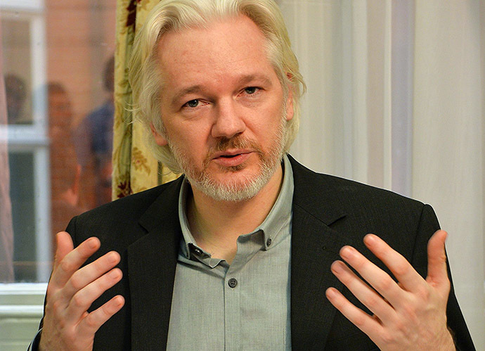 Julian Assange (AFP Photo/John Stillwell)