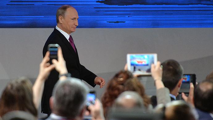 Putin's 2014 Q&A marathon